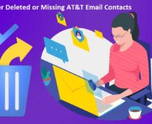 How to Recover Deleted or Missing AT&T Email Contacts?