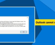 Outlook Not Connecting to Server; How to Fix?